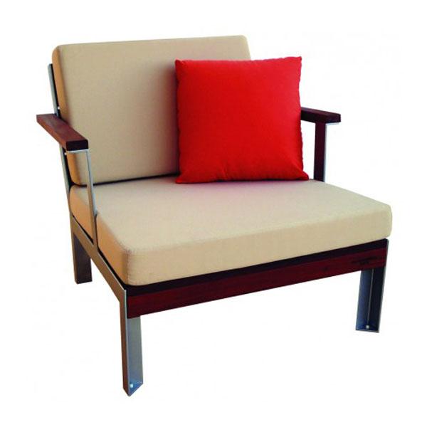Etra Club Lounge Chair Modern Outdoor