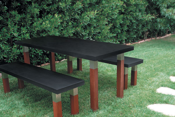 Kenji Outdoor Table Modern Outdoor