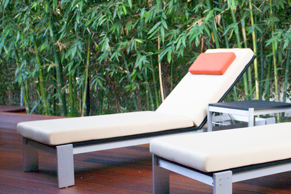 Luma Adjustable Chaise Lounge Modern Outdoor