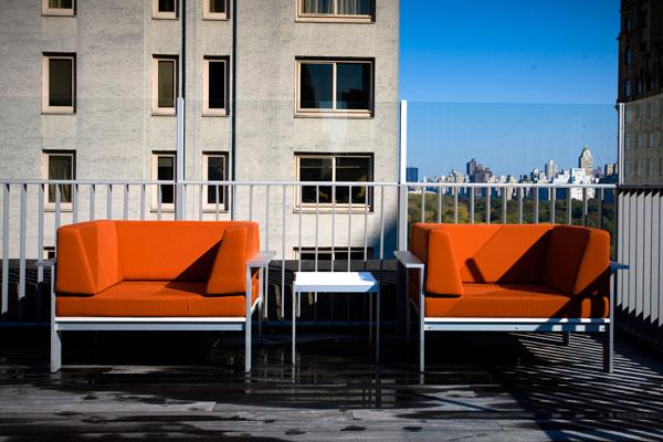 Luma Club Lounge Chair Modern Outdoor
