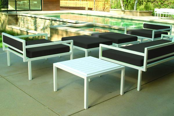 Talt Outdoor Side Table Modern Outdoor
