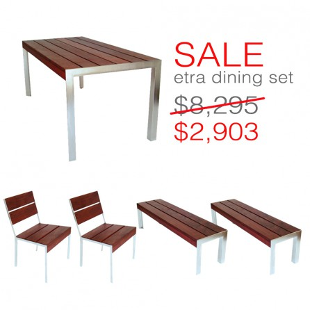 Incredible Etra Outdoor Dining Set Modern Outdoor Customarchery Wood Chair Design Ideas Customarcherynet